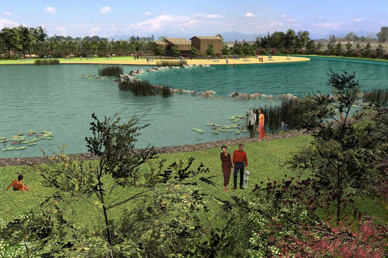 Recupero naturalistico ambientale cologno marell scavi for Laghetto balneabile progetto